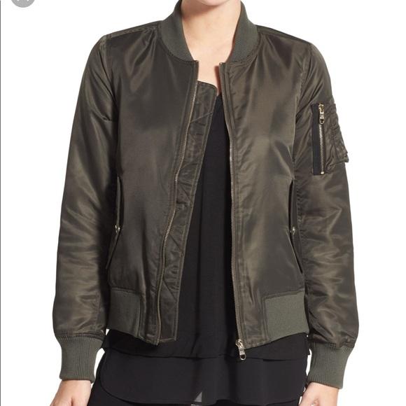 Steve Madden Girls Fashion Bomber Jacket with Fleece Hood